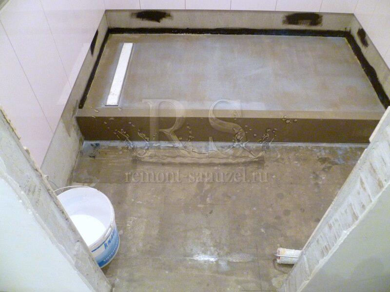 Как сделать подиум для ванной
