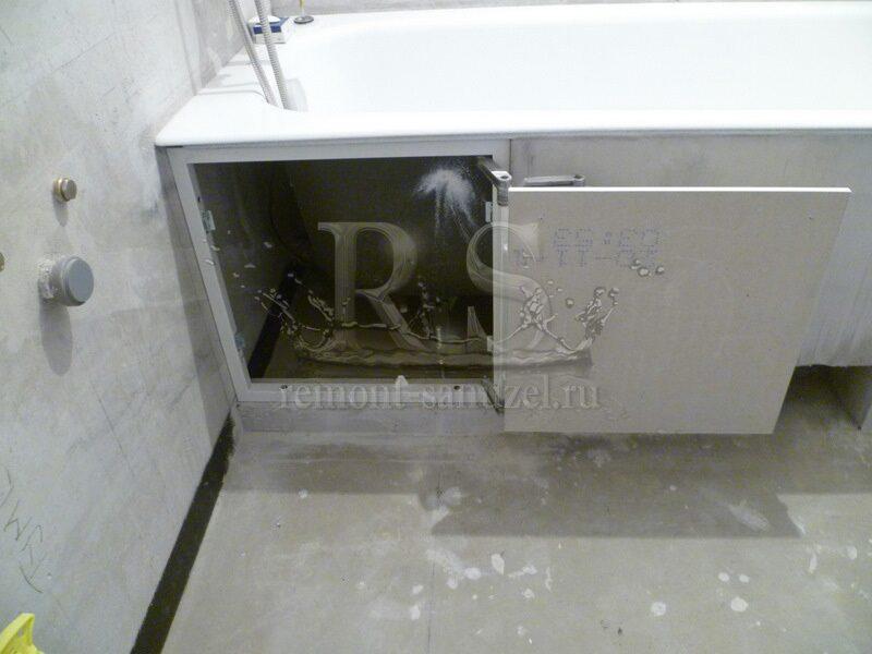Экран для ванны на магнитах своими руками 13