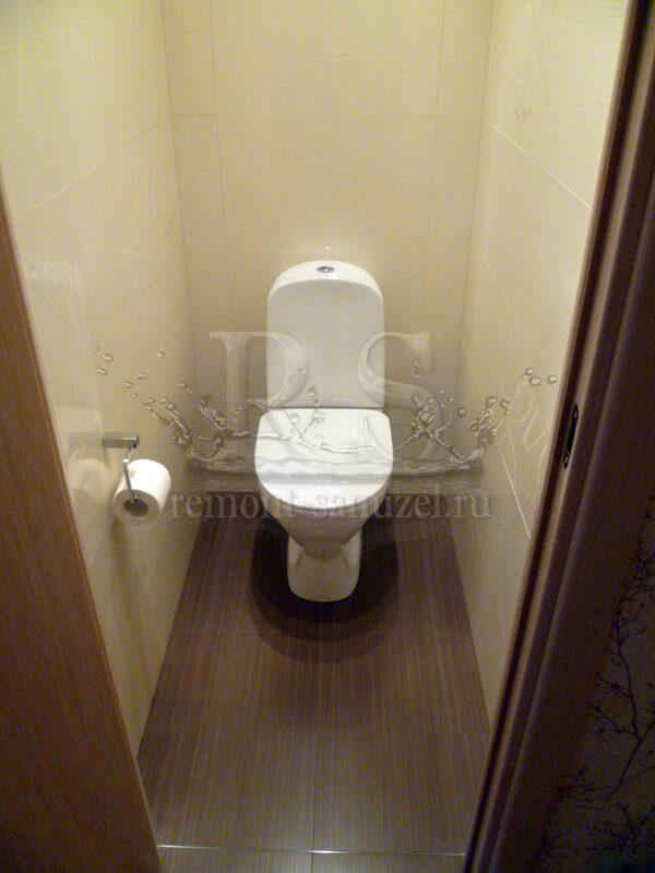 Фото туалета после ремонта