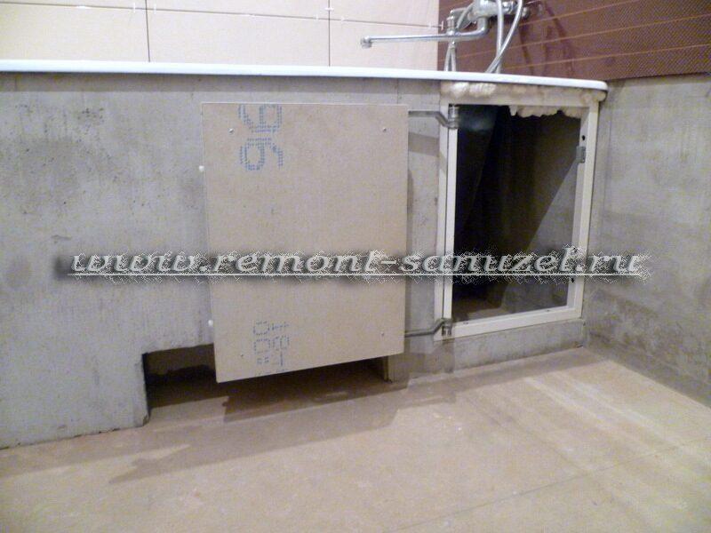 Люк плитке в ванной - d1e6e