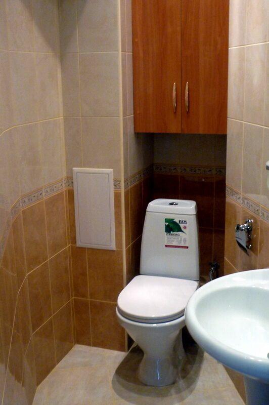 Ремонт туалета в 137 серии